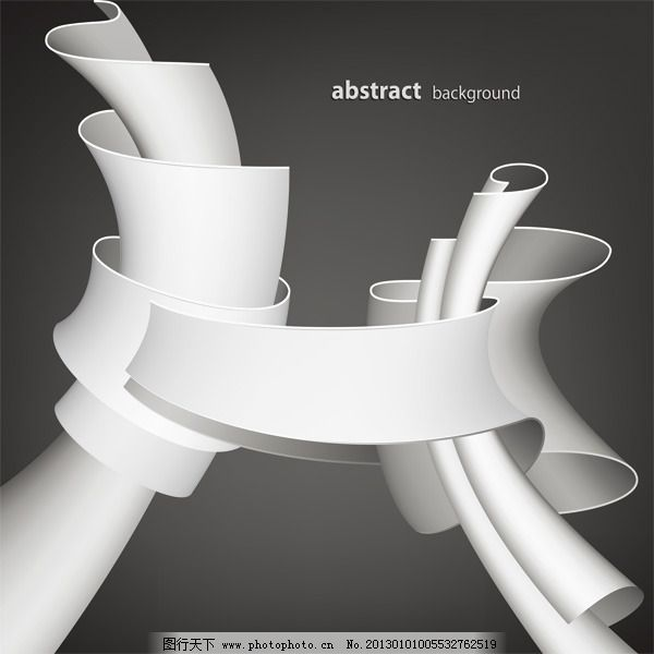 矢量创意立体图形设计素材