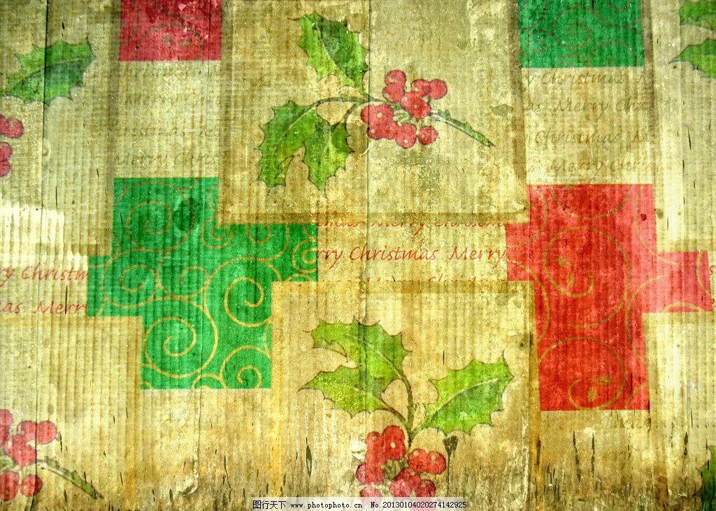 红绿鲜艳花草墙纸 墙纸 旧墙纸 欧式 老旧 美观 绿色 浅绿 几何形