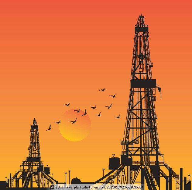 石油钻机图片