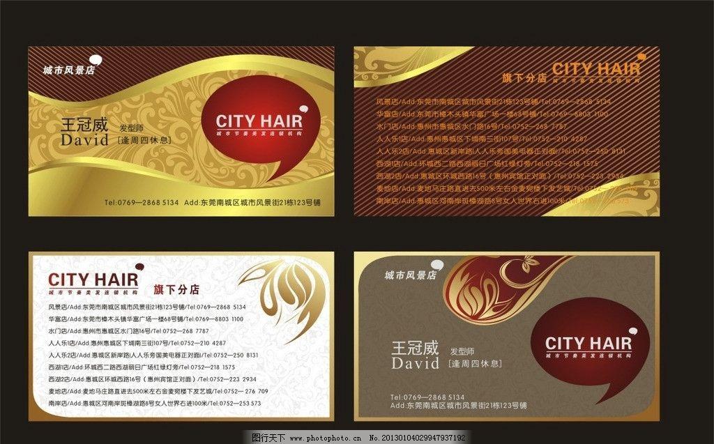 欧式 质感 广告设计模板 源文件 广告设计 矢量 cdr 名片卡片