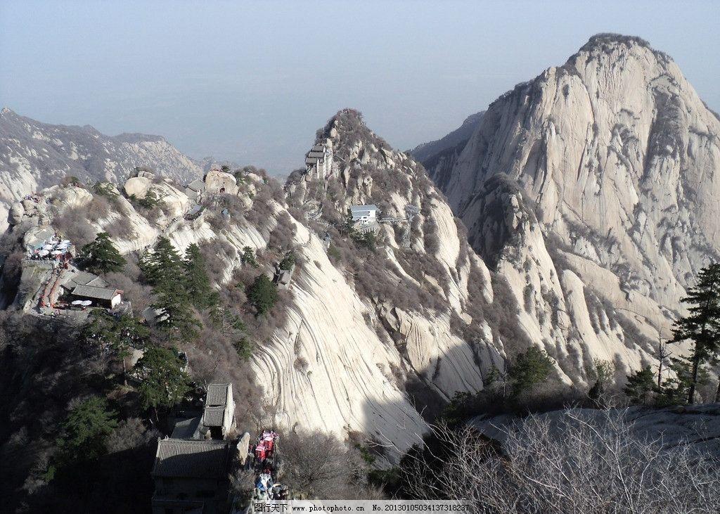 华山龙脉图片_自然风景_旅游摄影_图行天下图库