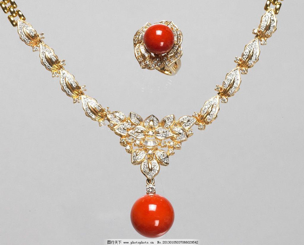珠宝翡翠 翡翠 珠宝 红珊瑚 象牙雕刻 首饰 闪亮 玫瑰花 配饰 吊坠