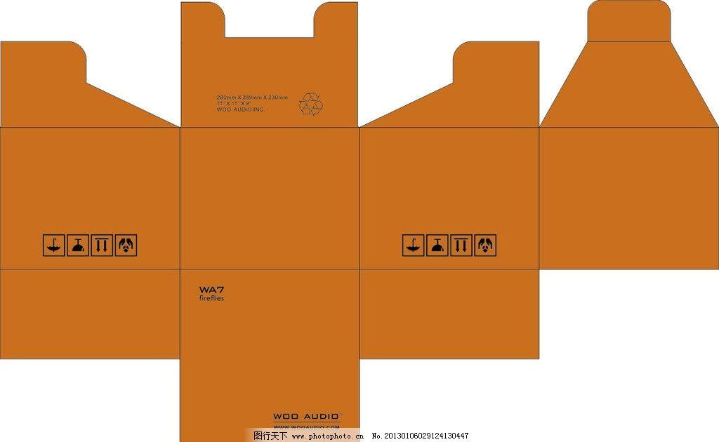 包装盒 纸箱 环保 包装设计 广告设计 矢量 cdr