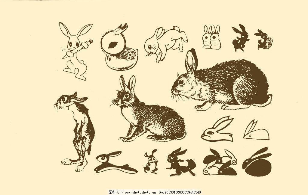 design 可爱兔子涂鸦_皮皮网  超萌可爱兔子素描_皮皮网