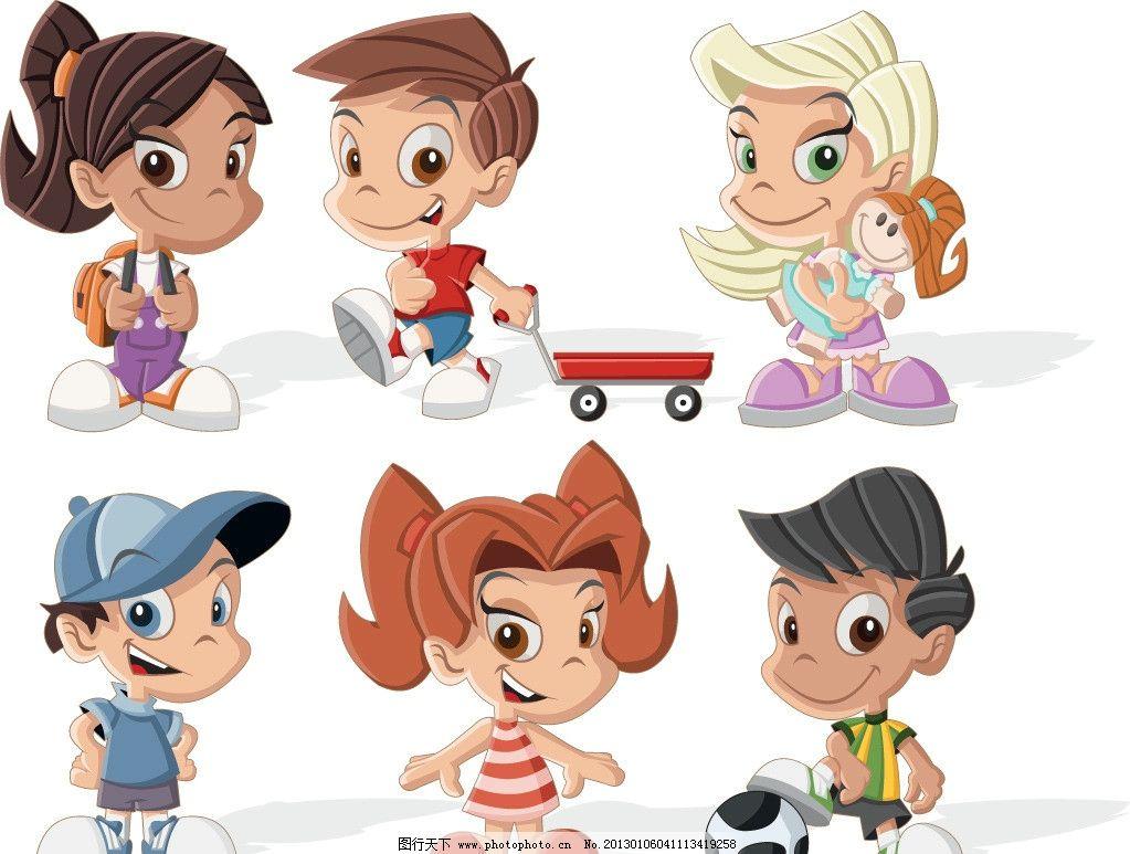 手绘卡通儿童图片