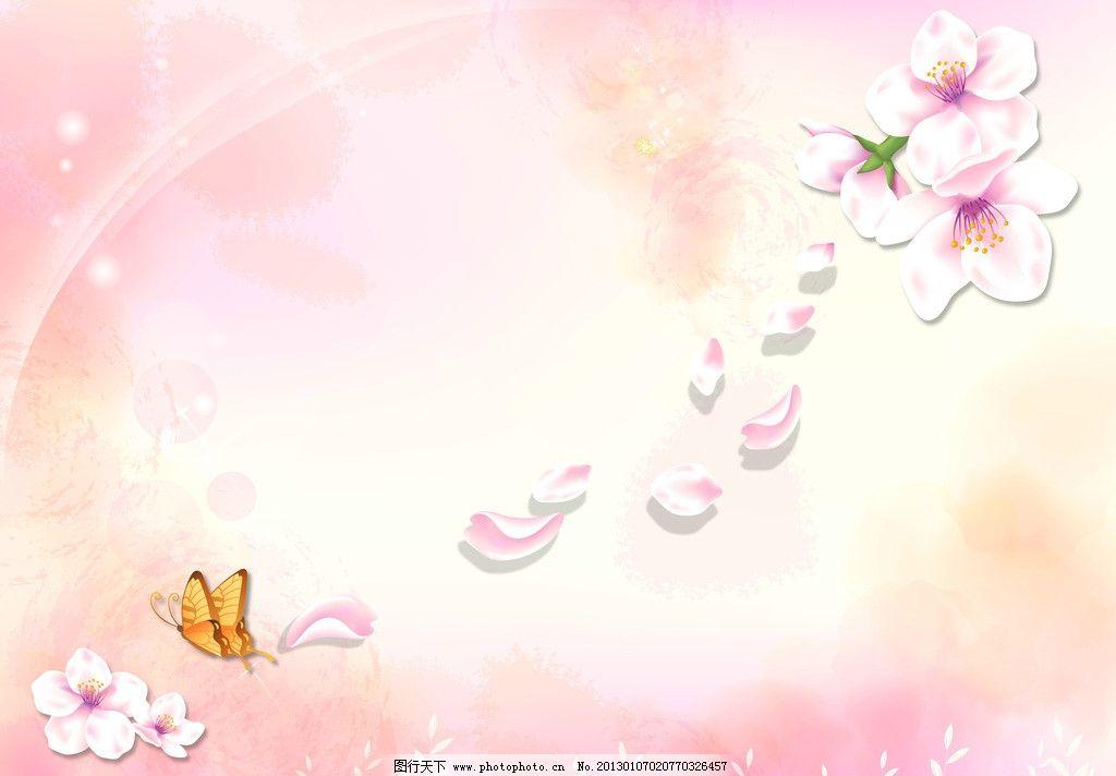 美丽樱花图片_移门图案_底纹边框_图行天下图库