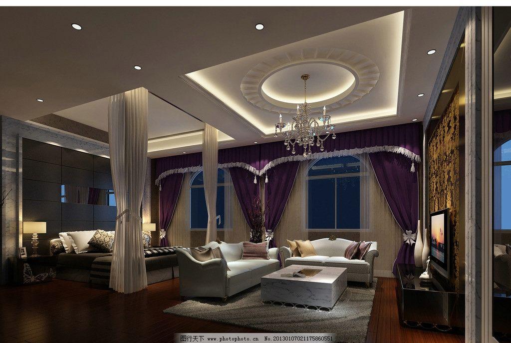 酒店包间效果图 酒店 包间        欧式 简约 家装 3d作品 3d设计