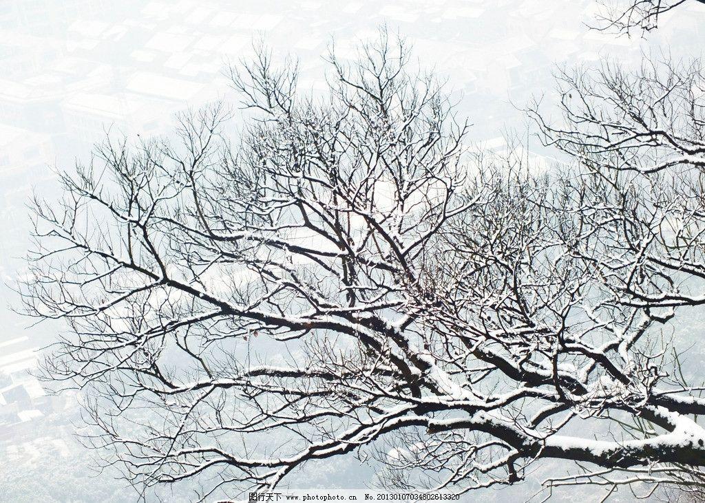 手绘雪景手机壁纸