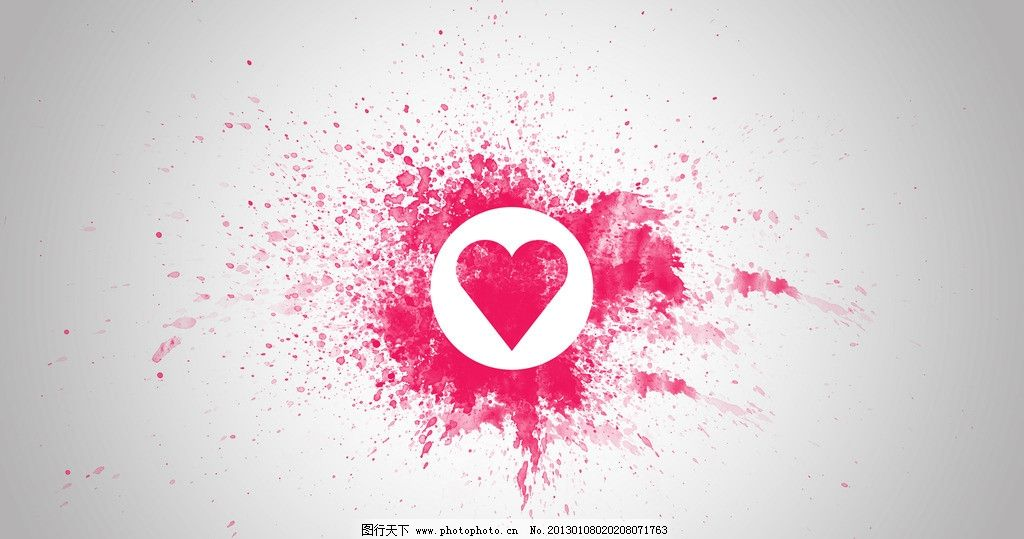喷溅的桃心 爱情 味道 桃心 喷溅 桌面 粉色 壁纸 背景底纹 底纹边框