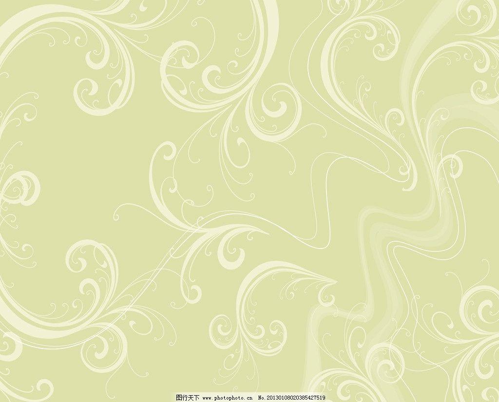 服饰 曲线 抽象 线条 花纹 百媚千娇 简约主义 花边花纹 底纹边框