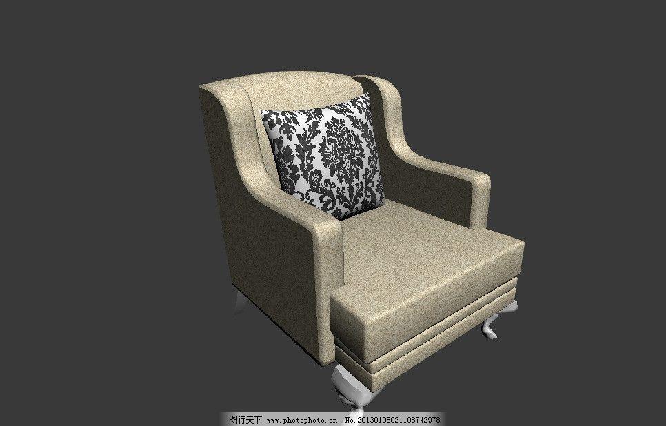 椅子模型 室内模型 家具 家具模型 椅子 3dmax模型 欧式椅子 欧式模型