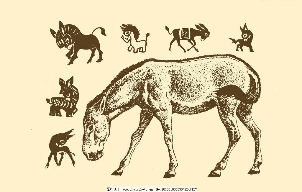 驴的简笔画