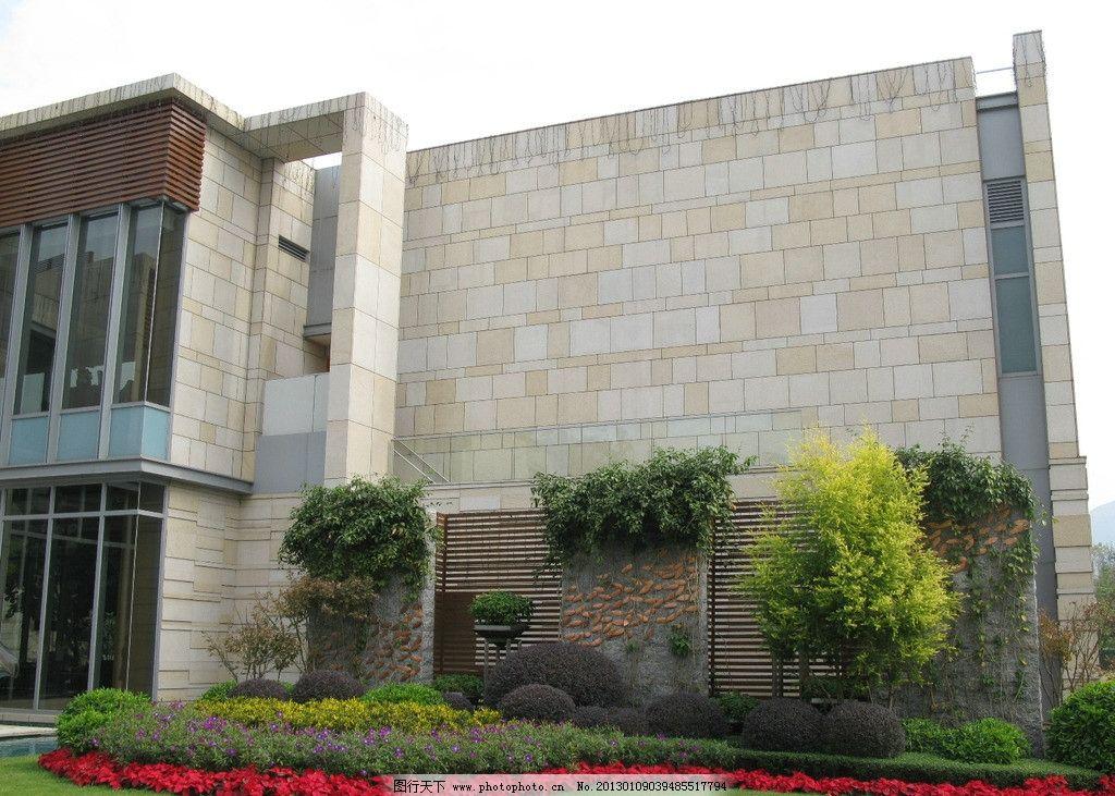 欧式花园 景观墙