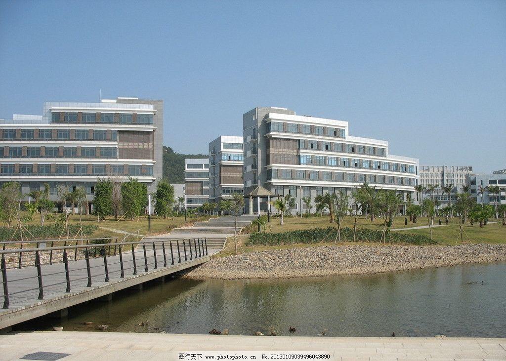 软件园广场 厦门 二期 建筑 楼房 水面 风景美图 建筑摄影 建筑园林