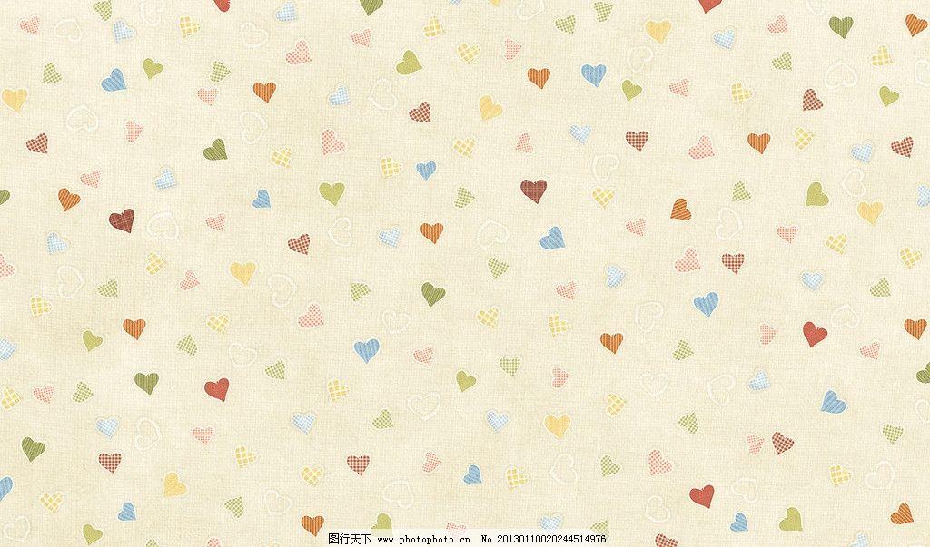 爱心壁纸 爱心 平铺 心心 底纹 背景 可爱 图形 背景底纹 底纹边框