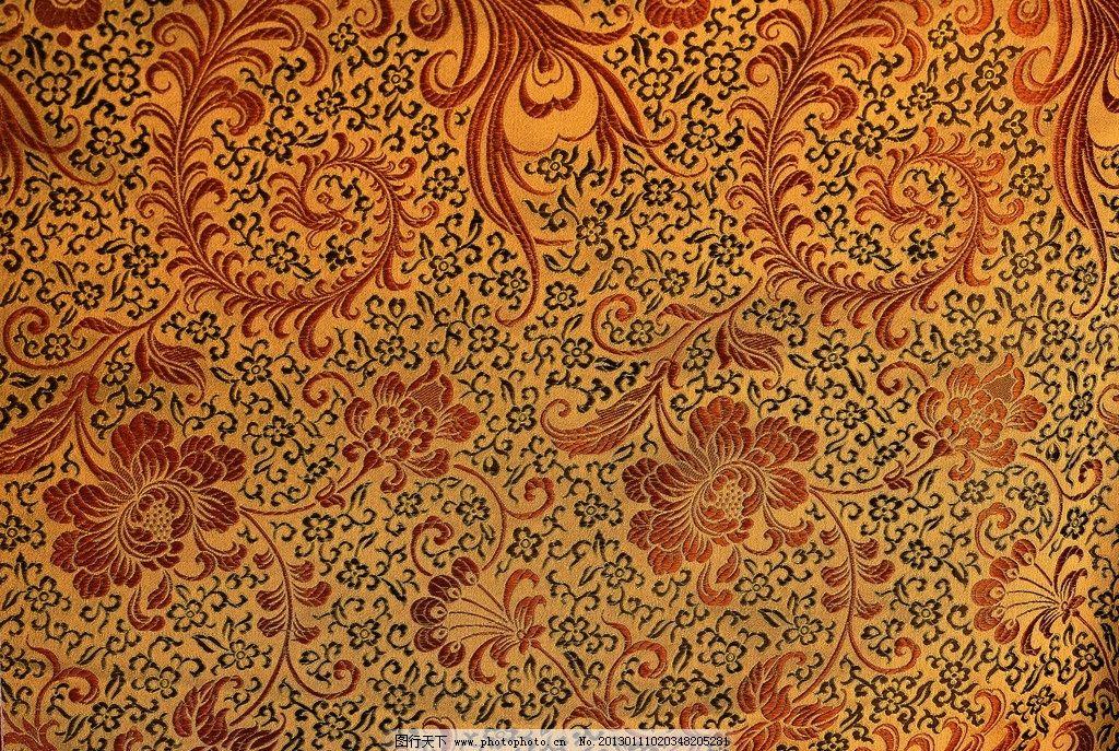 传统刺绣花纹图片