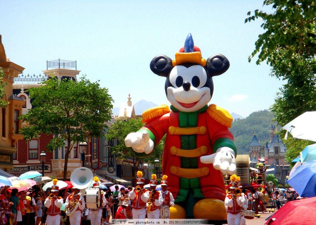 迪士尼乐园 迪士尼 米奇 游乐场 儿童乐园 游乐园 卡通 卡通人物 公园