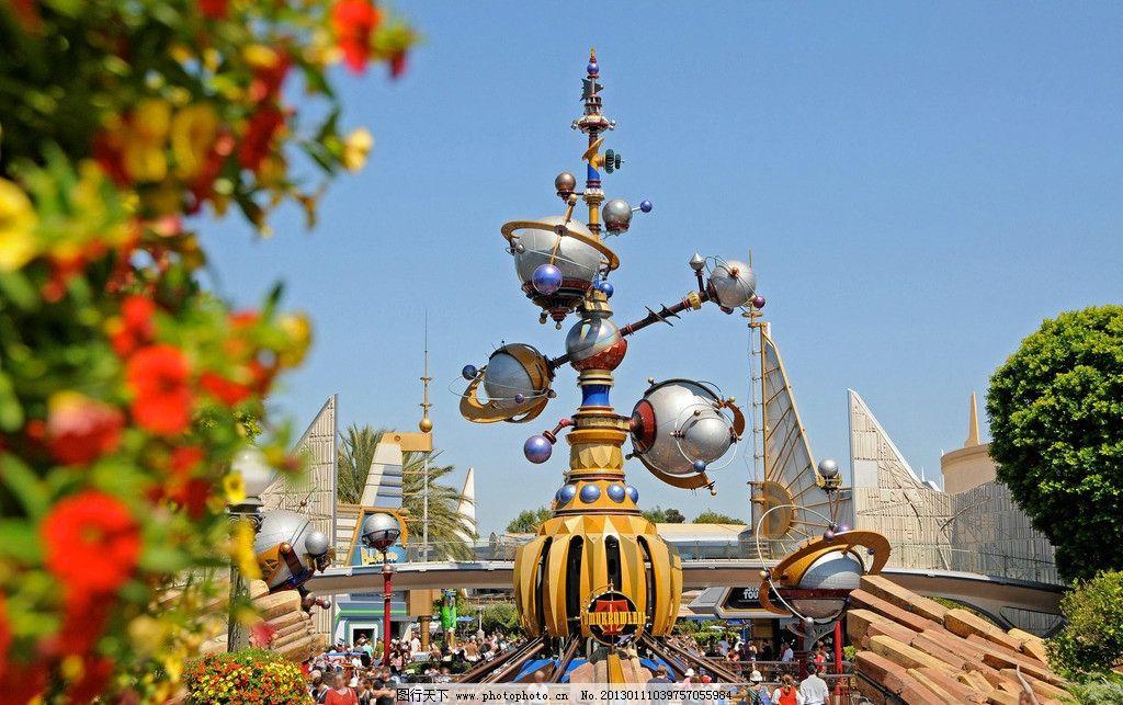游乐场 儿童乐园 游乐园 迪士尼 公园 建筑园林 摄影