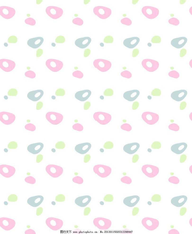 彩石 彩色 石头 圆圈 斑纹 蓝色 粉色 绿色 花边花纹 底纹边框 设计