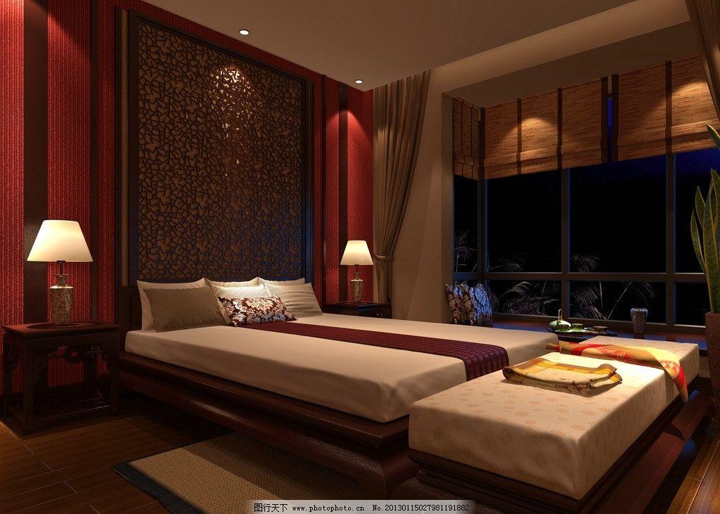 中式酒店客房图片图片