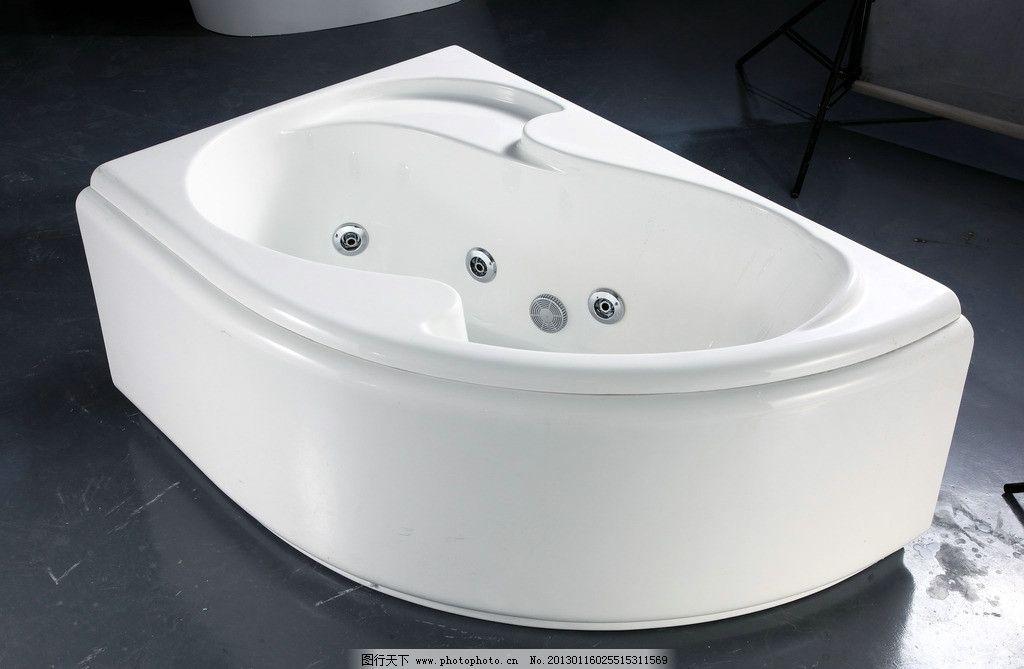 浴缸单体手绘速写