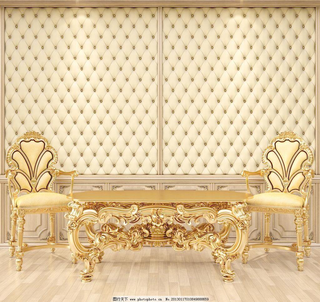 大气 大厅 地板 雕刻 复古 豪宅 欧式风格家居图片素材下载 欧式风格