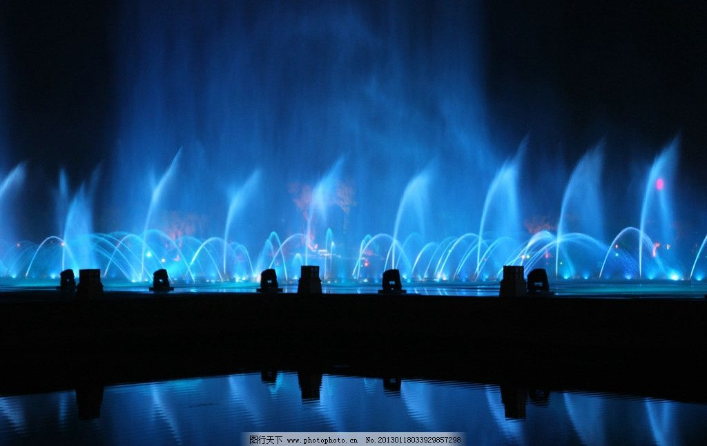 抚顺月牙岛 抚顺 月牙岛 音乐喷泉 夜色 慢快门 国内旅游 旅游摄影