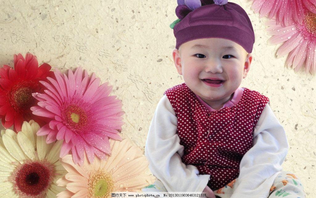 含羞的宝宝 宝宝 婴儿 小孩 含羞 微笑 害羞 可爱 童趣 儿童幼儿 人物