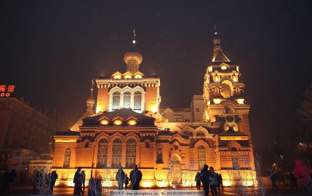 哈尔滨教堂图片
