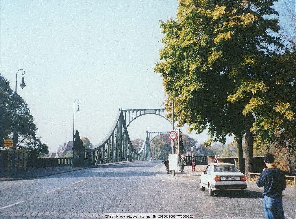 铁拱桥 欧式桥 建筑园林 建筑摄影 桥式建筑 摄影图库 建筑景观 自然