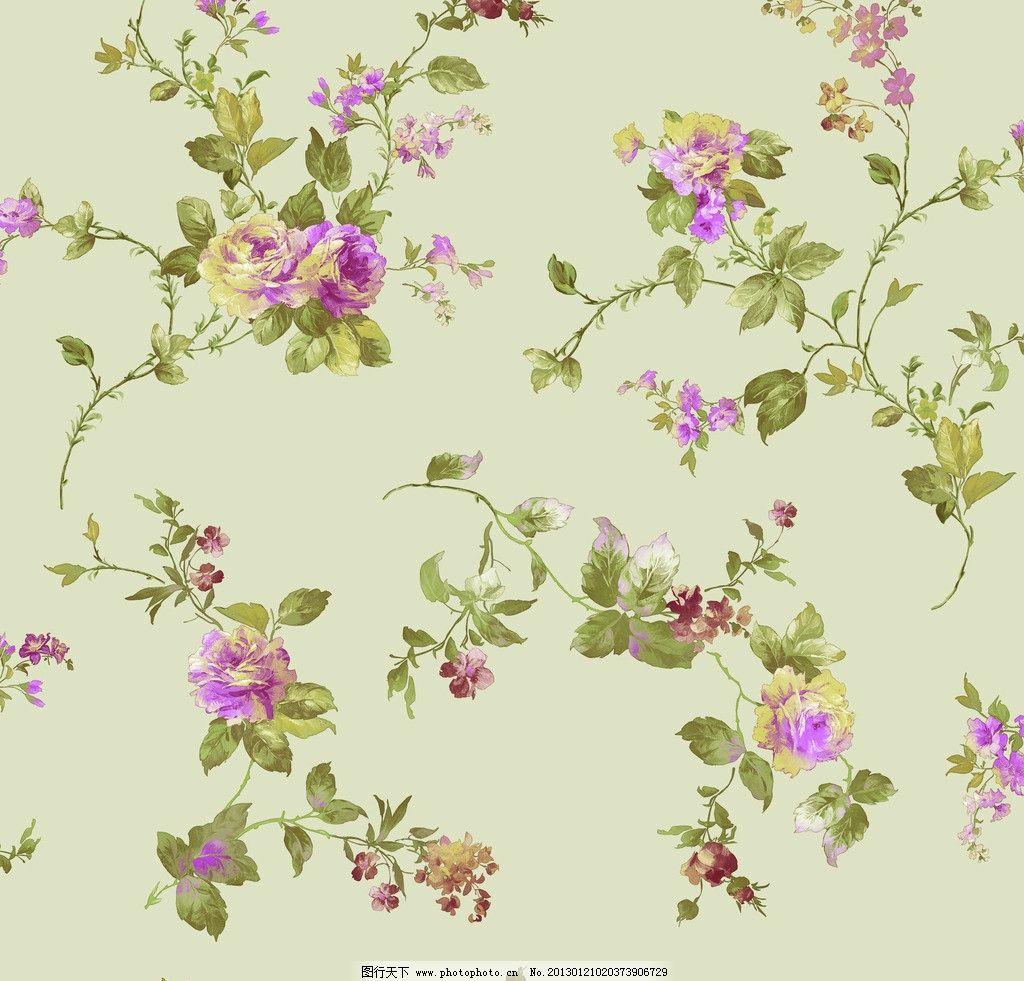 散排长枝壁纸 散排 田园风 手给花 长枝花 壁纸 藤条花壁纸 花边花纹