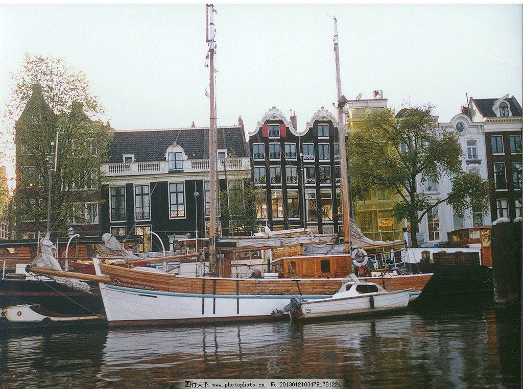 欧式海边旅馆 旅馆 欧式建筑 建筑物 旅游景区 休闲旅游 旅游度假
