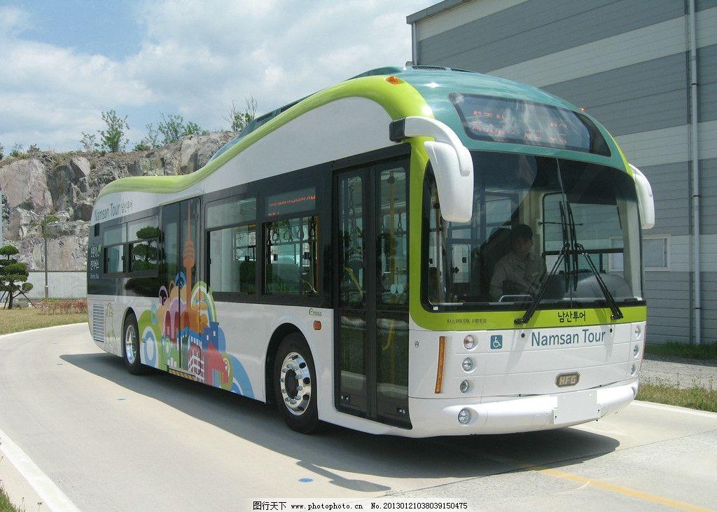 首尔 公交车图片