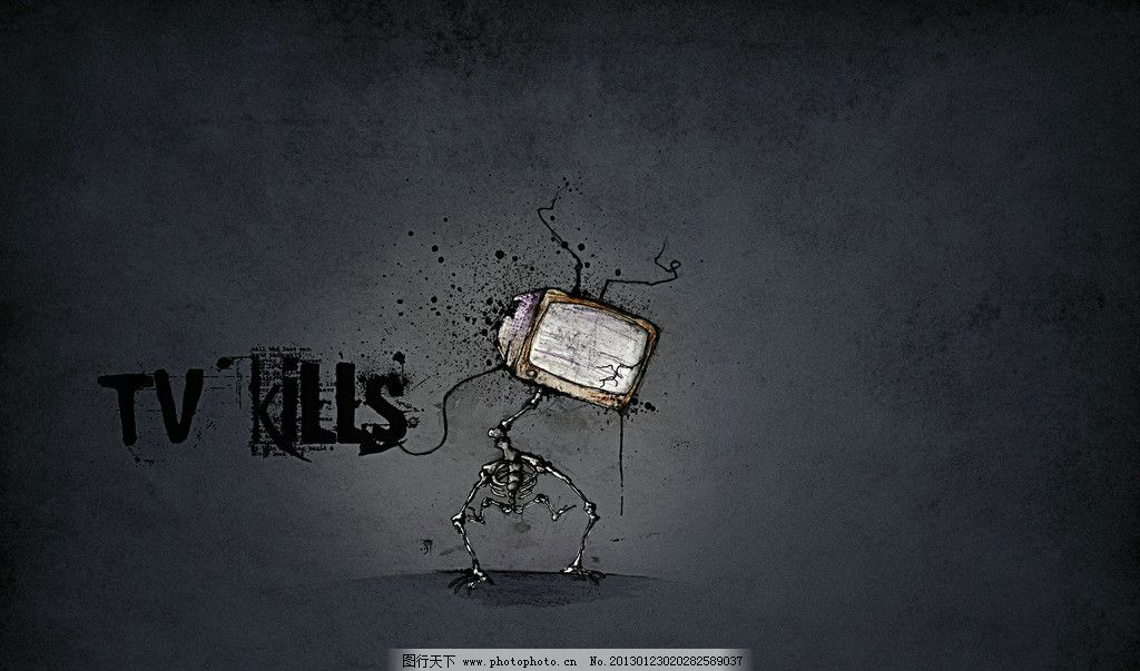 抽象图 灰色 黑暗 抽象      素材 jpg 宣传 电视机 卡通 英文 字母