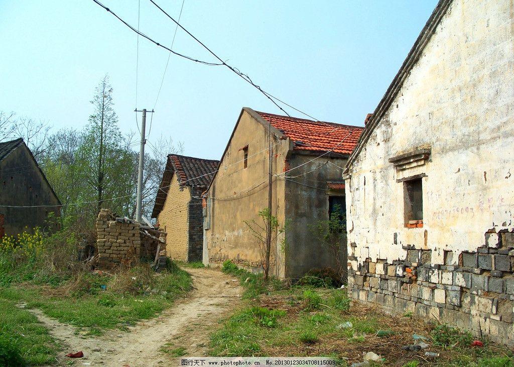农村老房子图片_建筑景观