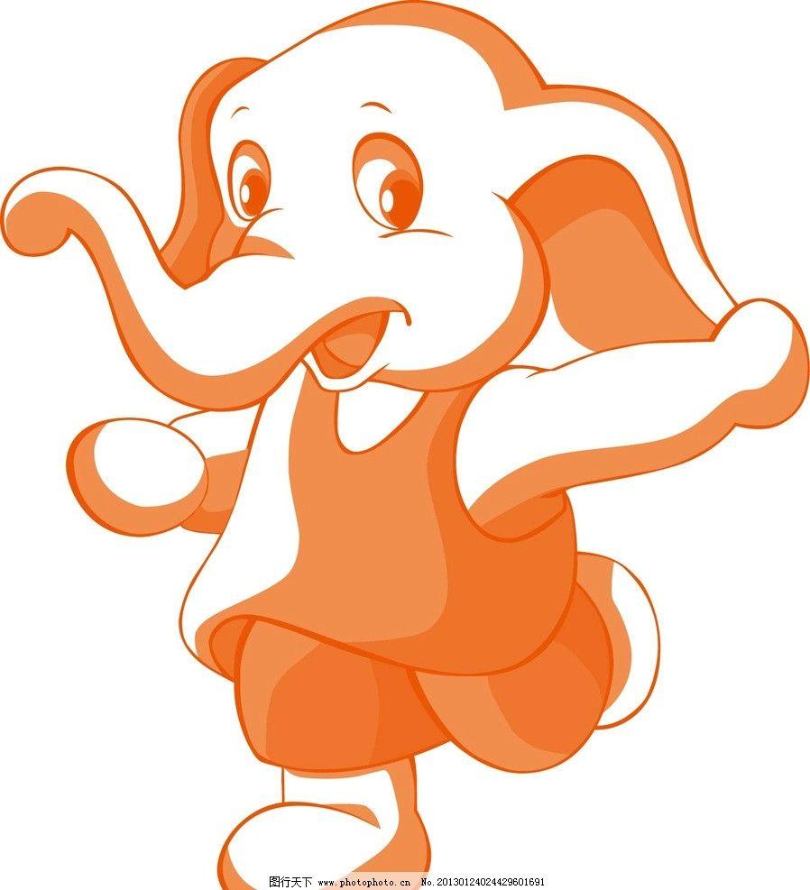 大象矢量图片,动物-图行天下图库