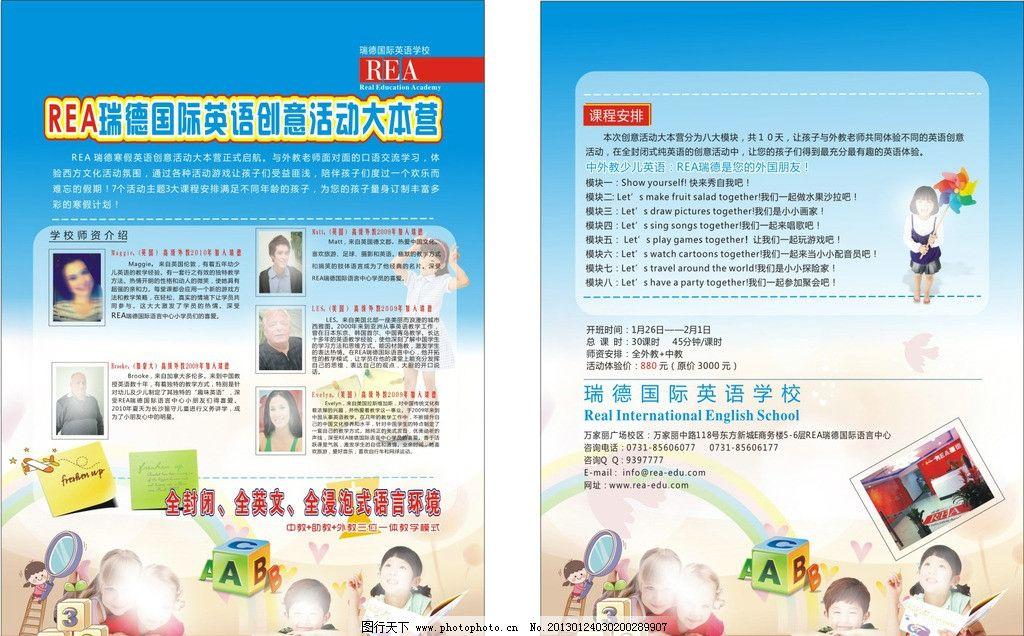 外国产品设计展板