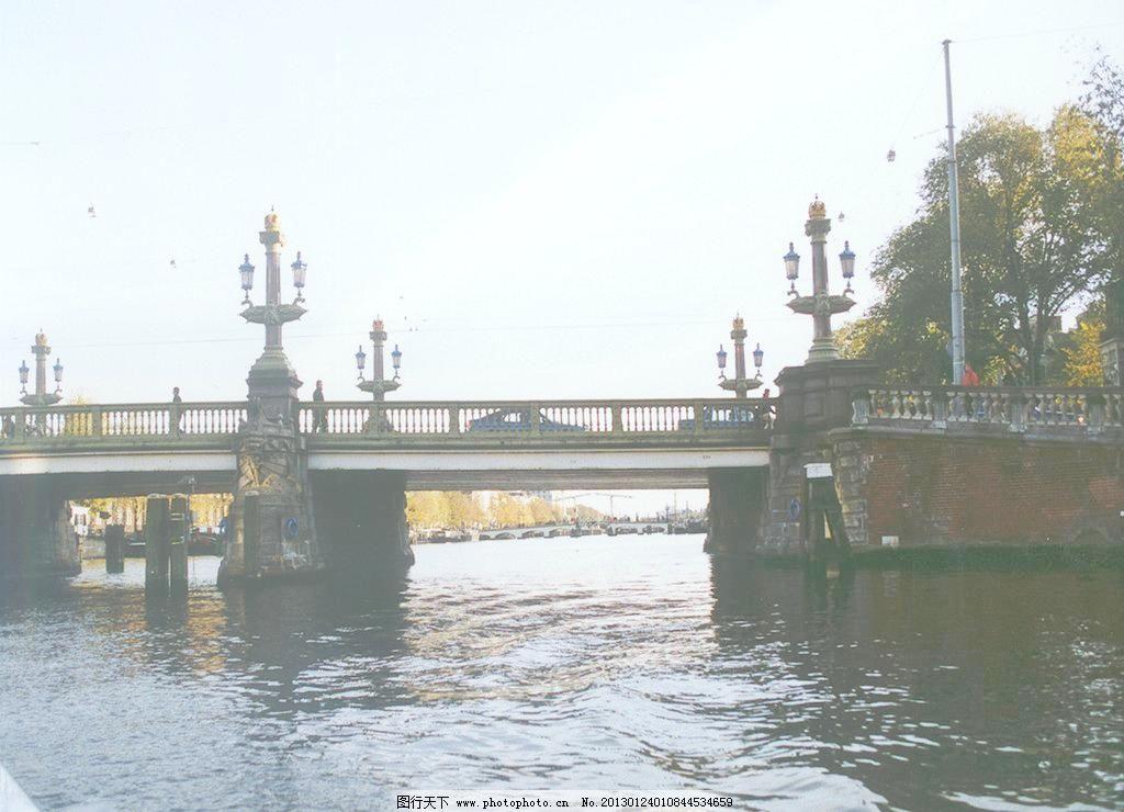 欧式桥建筑图片