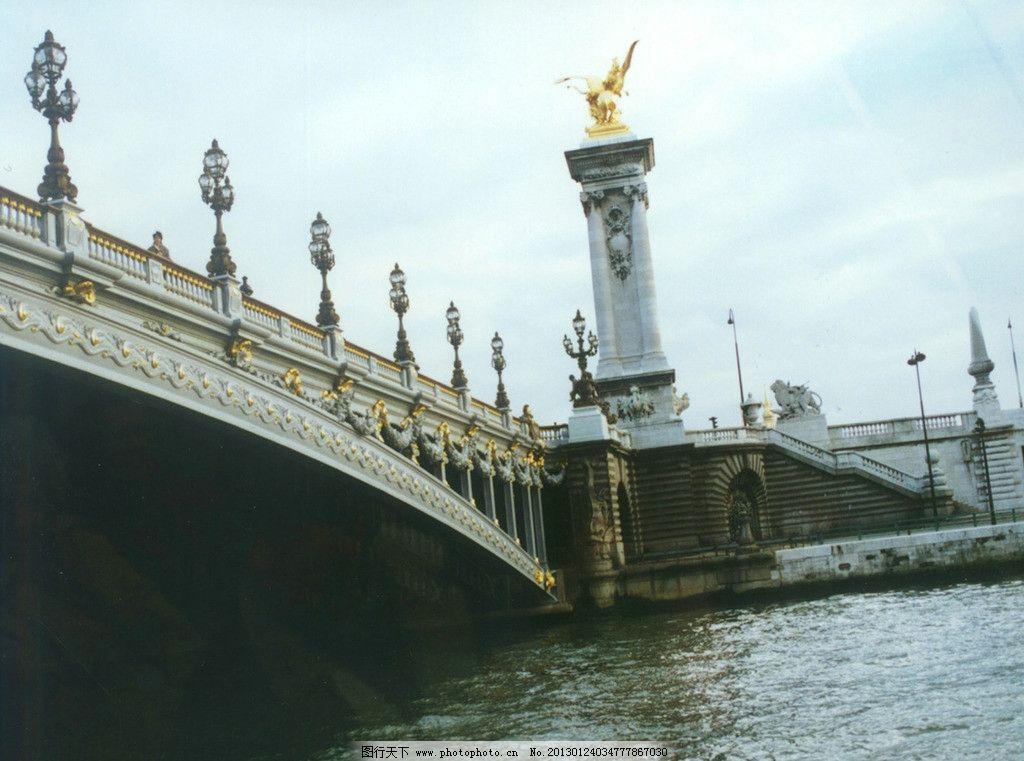 壁纸 拱桥 水 灯光 欧式建筑