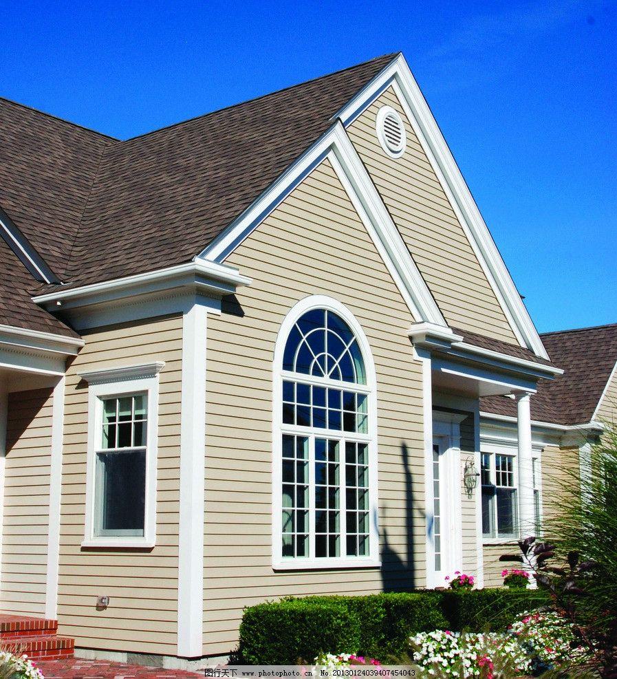 建筑别墅 欧式建筑 户外建筑 屋子 木质建筑 房屋 防腐木 房地产