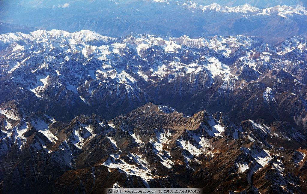 雄浑山脉 航拍山脉 大美地景 山脉 自然景观 山水风景 摄影 72dpi jpg