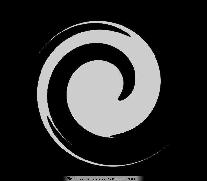 八卦标志 八卦演化 标志 企业logo标志 标识标志图标 矢量 cdr