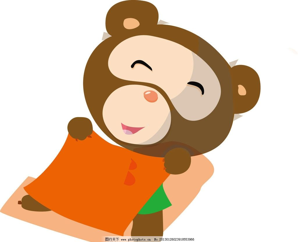 小熊 卡通熊 睡觉小熊 卡通 其他人物 矢量人物 矢量 ai
