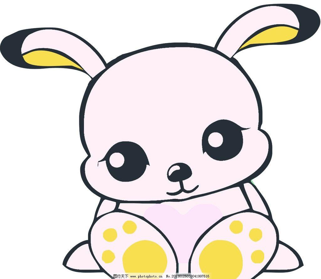 动物 卡通兔子