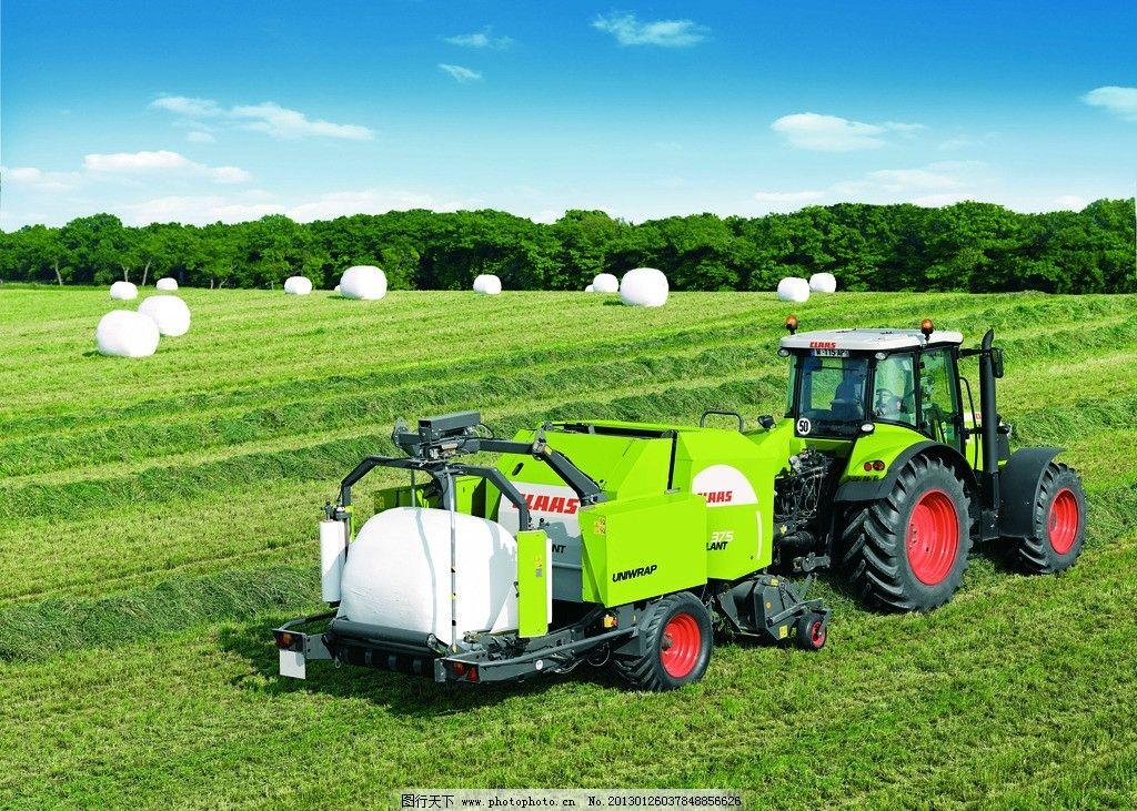 现代化农业生产机械图片