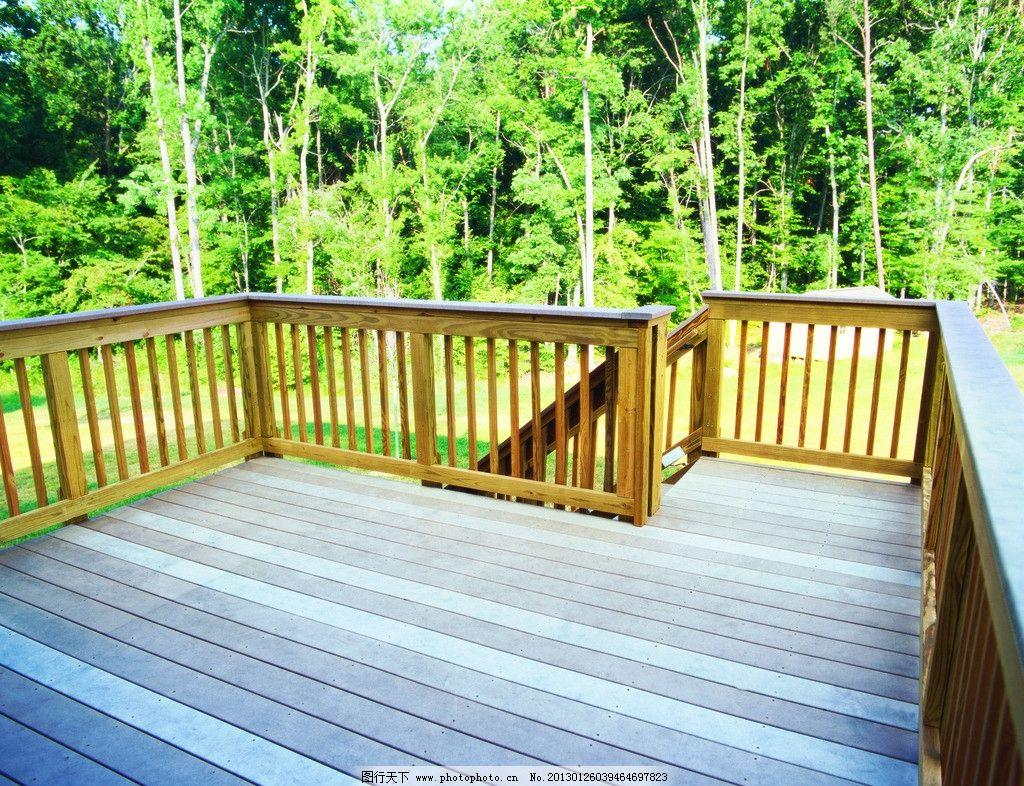 庭院防腐木 园林 房地产 欧式建筑 木楼 绿色 户外家具 地板