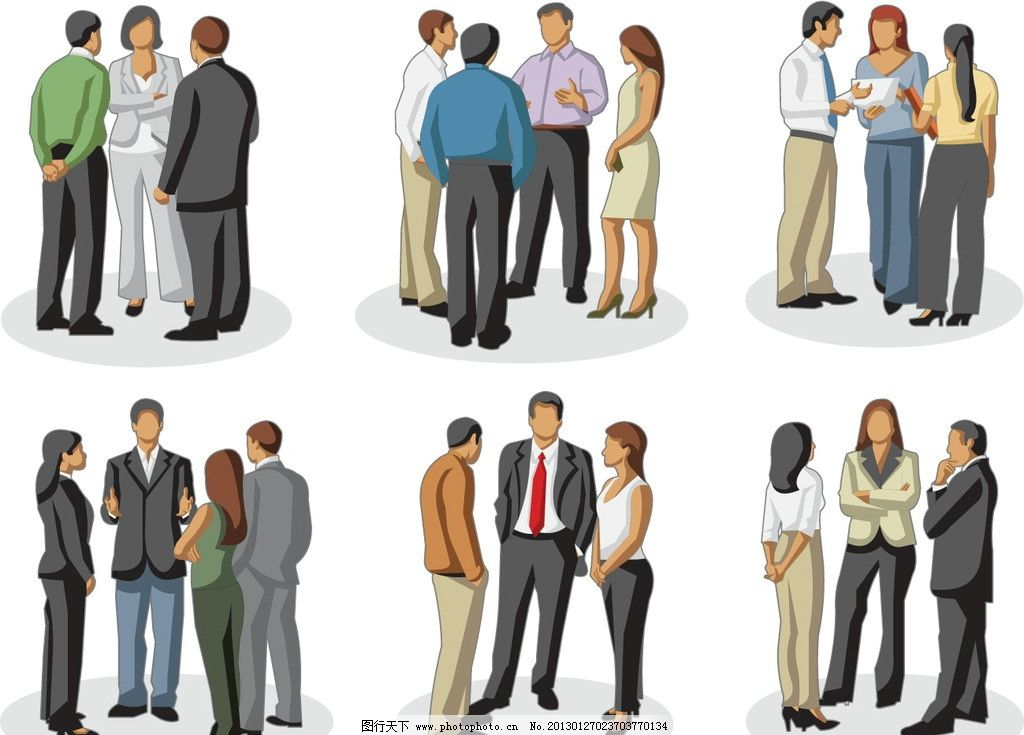 美女 背影 白领 姿势 动作 走路 商务人物矢量主题 职业人物 矢量人物