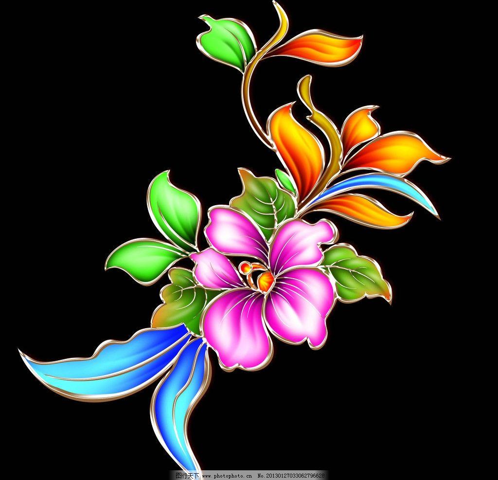牡丹花 月饼盒 月饼盒设计 手绘花朵 金属花朵 树叶 psd分层素材 源文