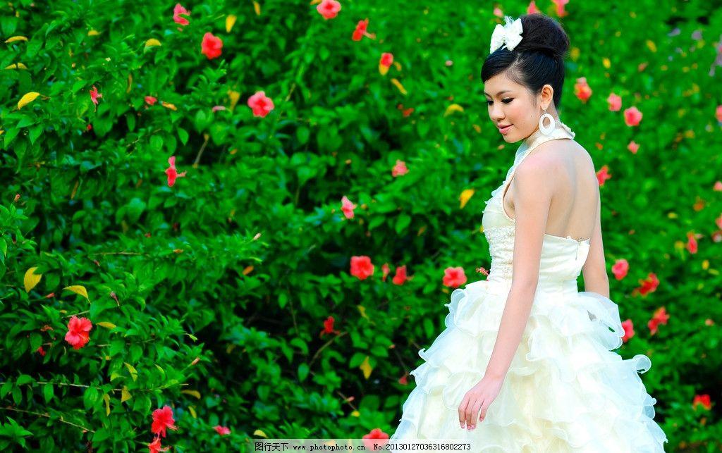 美女 美人 艺术摄影 婚纱礼服 婚纱样片 唯美婚纱照 幸福恋人 可爱