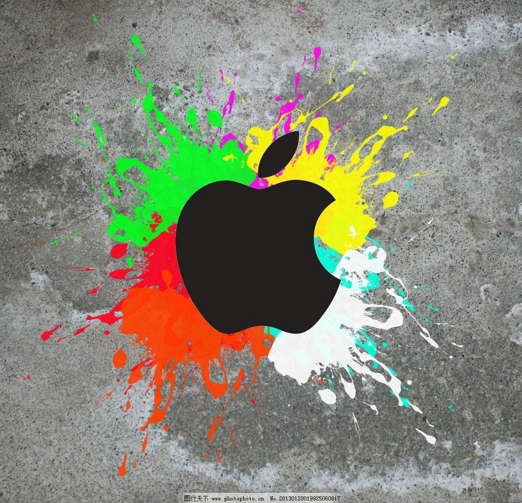 颜料苹果画图片步骤